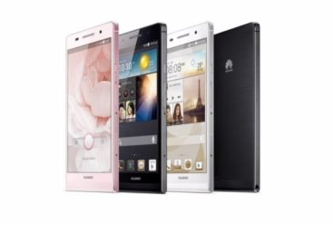 Huawei Ascend P6 Touted As The World's Slimmest Smartphone