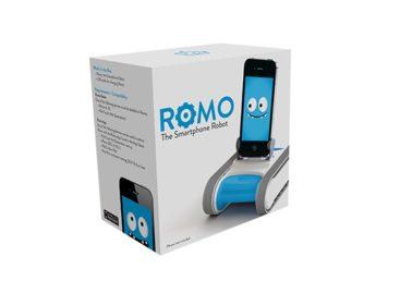 Romo Upgraded With Telepresence