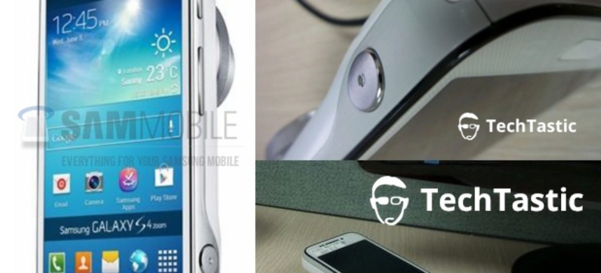 Pics of Samsung Galaxy S4 Zoom Leaked Ahead of Launch