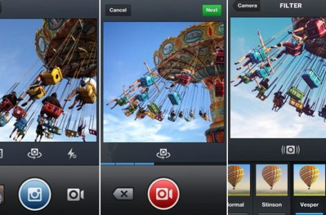 Instagram Video: App Updates with Moving, Filtered Clips