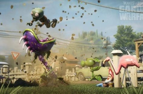 "EA Unveils ""Plants Vs. Zombies: Garden Warfare"""