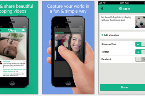 Front-Faced Camera Support Available on Vine for Android