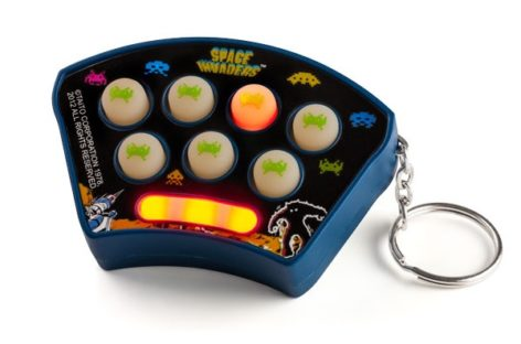 Keychain Space Invaders