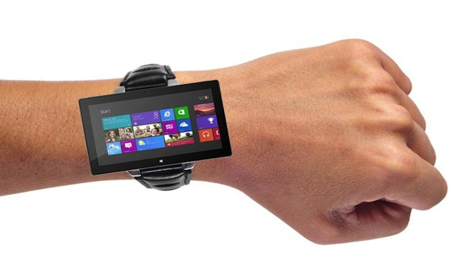 Microsoft smart watch, allegedly.