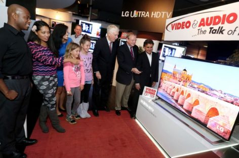 Two LG 4K TV Sets Launched