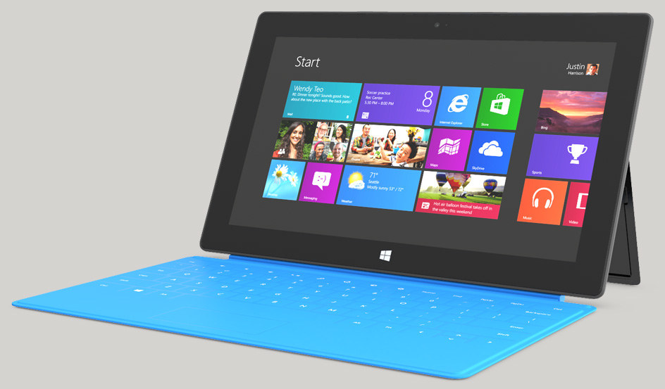 Microsoft suffers weak Surface sales