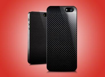 Carbonicum iPhone case made of single carbon fiber sheet
