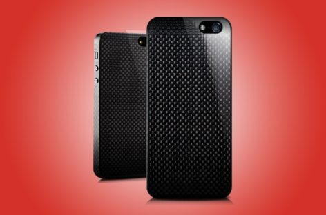 Carbonicum iPhone case made of single carbon fiber sheet