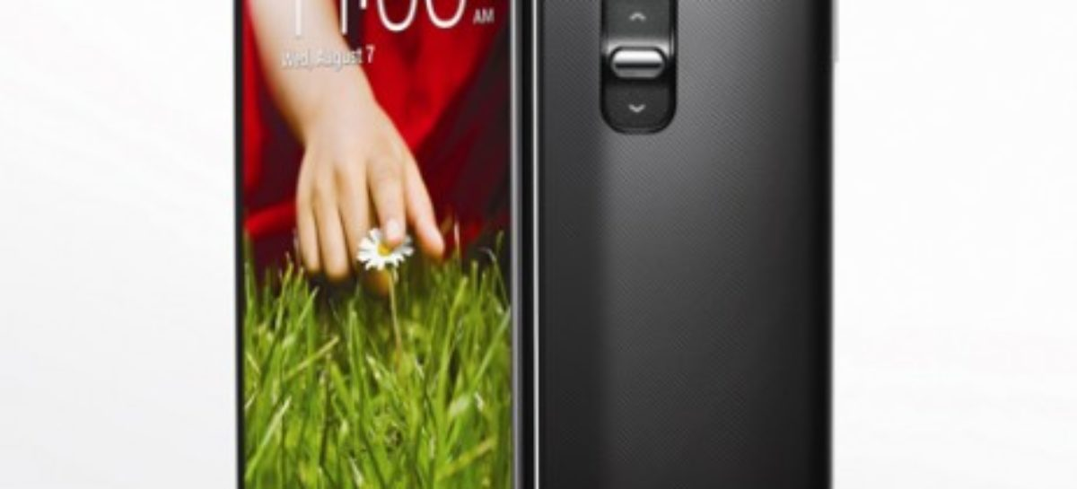 LG G2 Launched; Comes with Rear Controls