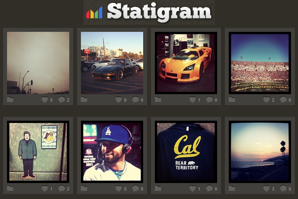 Statigram, one of Instagram third-party apps affected by the new ruling.