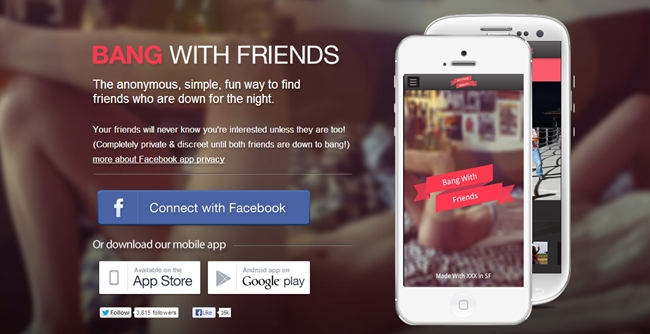 Zynga sues Bang With Friends