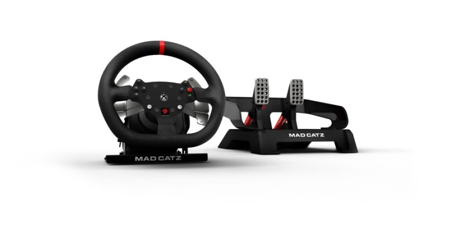Mad Catz Force Feedback gaming wheel