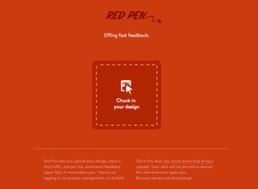 Red Pen Online Design Feedback Tool