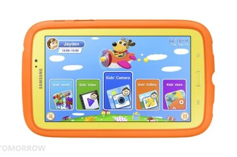 Samsung tablet for kids announced