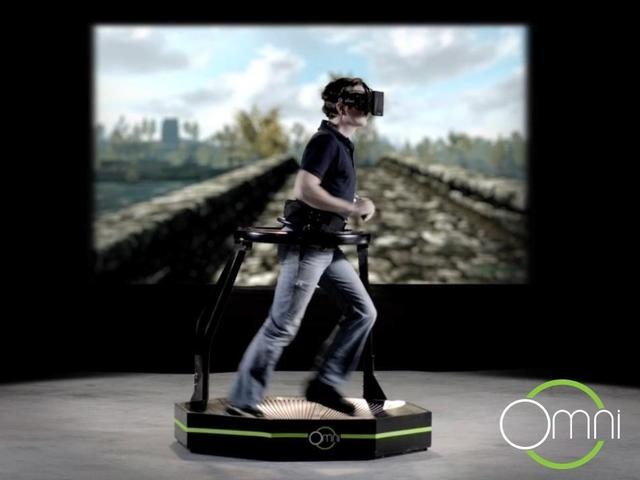 Virtuix Omni gaming treadmill