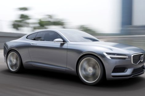 Volvo Concept Coupe shows car maker's design future
