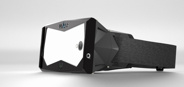 vrAse virtual reality smartphone case