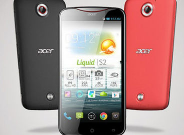 Acer Liquid S2 smartphone coming this October