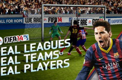 FIFA 14 free-to-play app now on iOS and Android