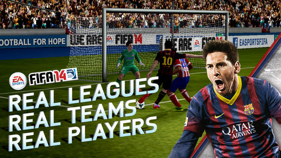 FIFA 14 for iOS and Android