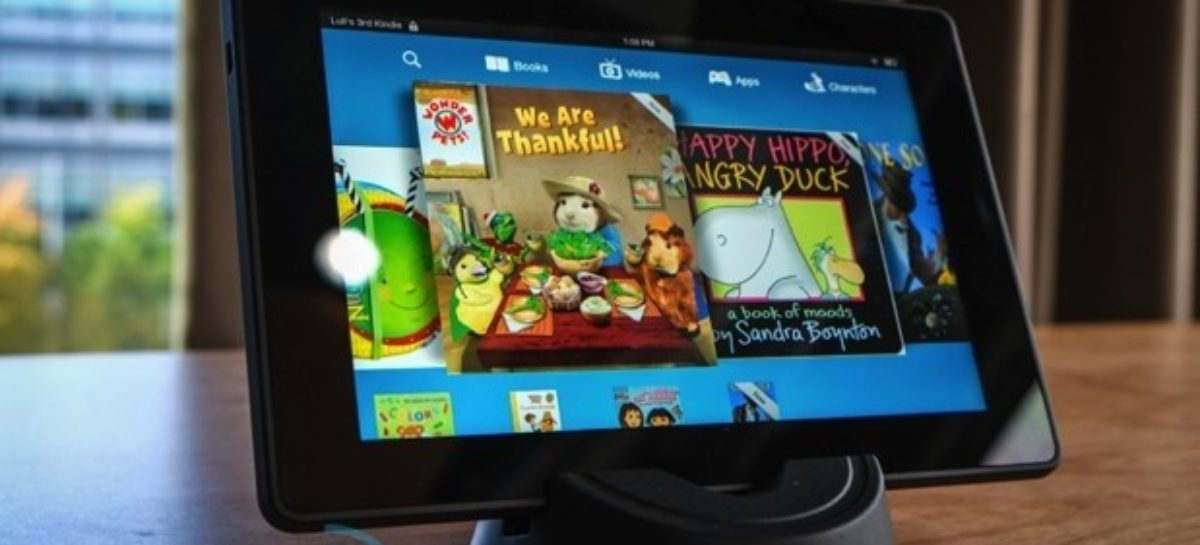 Amazon gives Kindle Fire HD new body, lower price