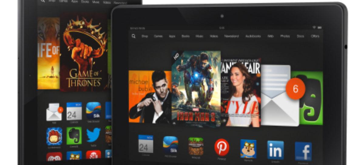 Kindle Fire HDX: Amazon presents new HD tablets