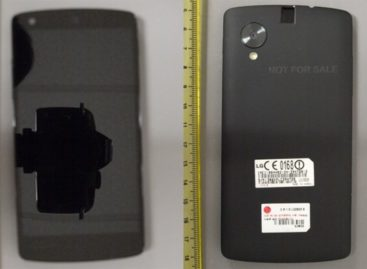 LG Nexus 5 appears in the wild