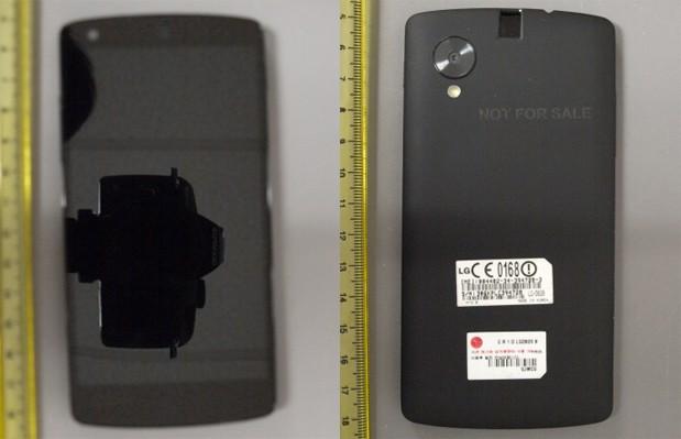 LG Nexus 5 leaked
