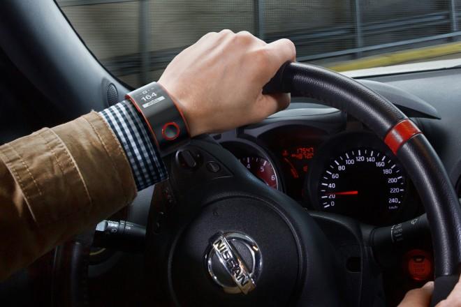 Nissan smartwatch concept