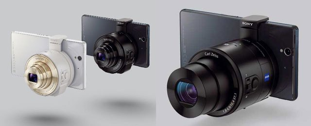 Sony QX10 and Sony QX100