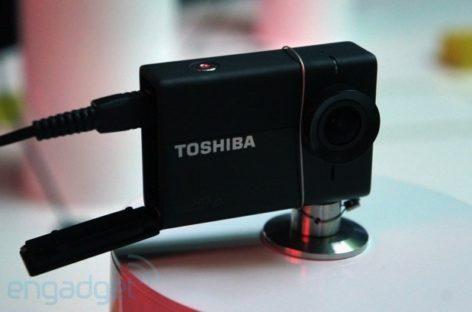 Toshiba Camileo X-Sports camera: More GoPro rivals