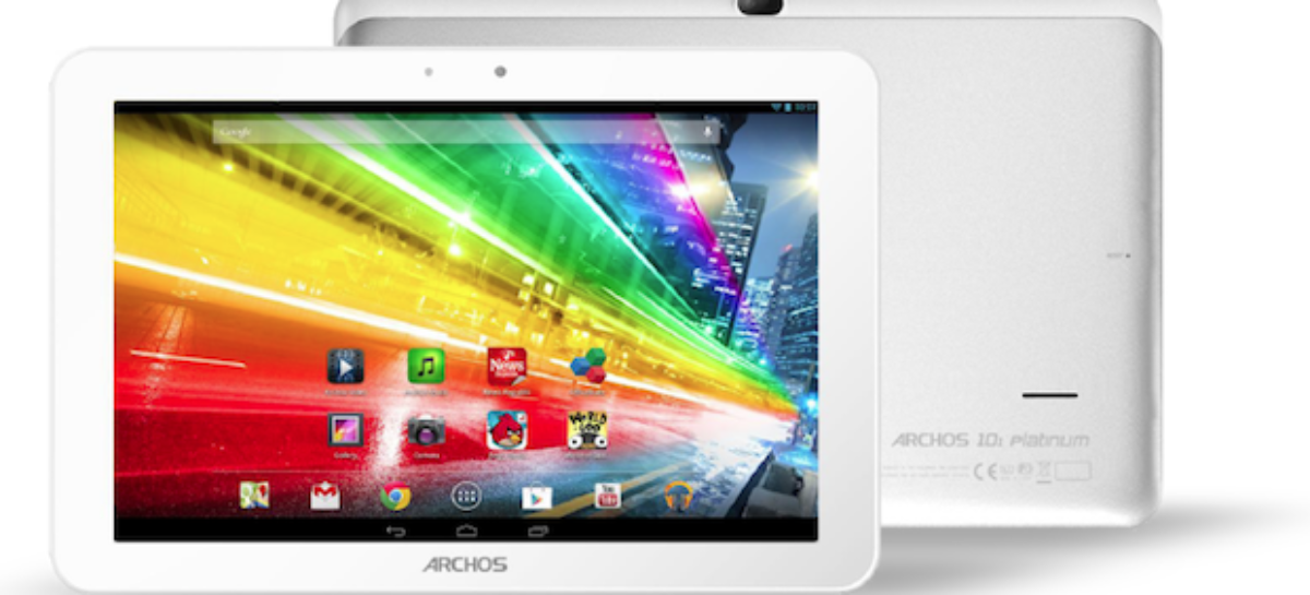 Archos Platinum tablets unveiled