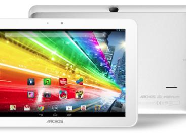 Archos Platinum tablets unveiled