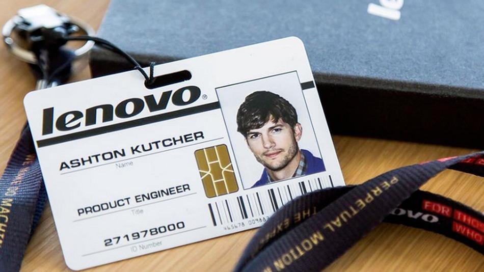 Ashton Kutcher for Lenovo