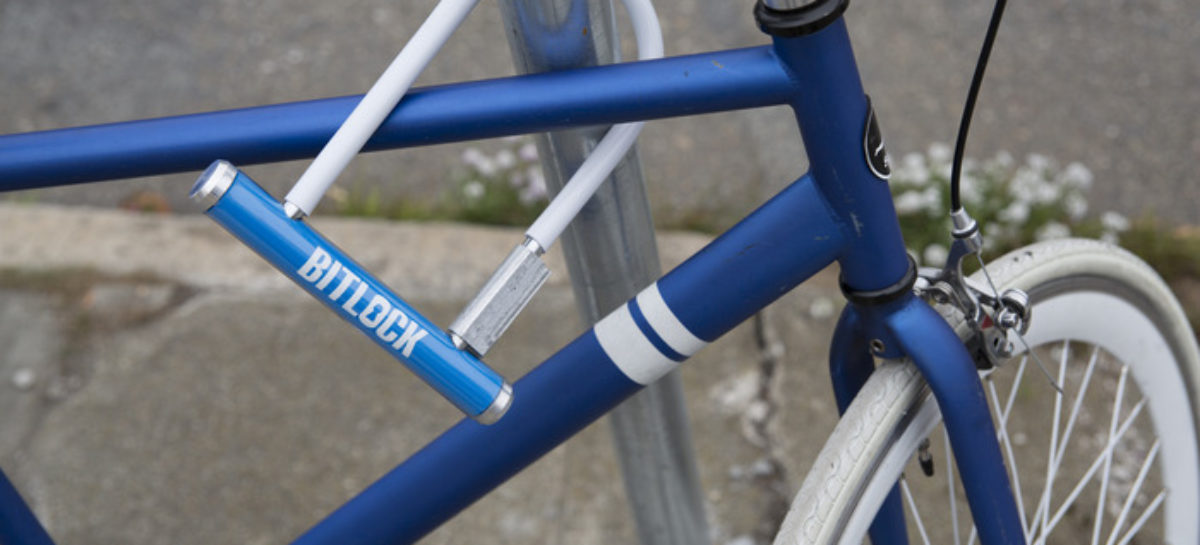 Bitlock: Bicycle lock that opens with a smartphone