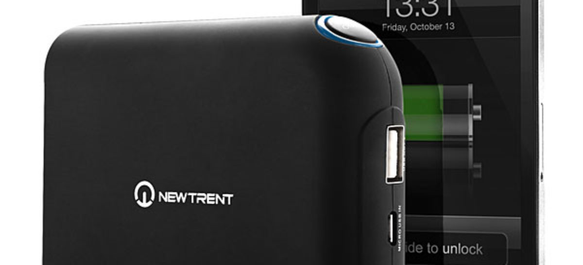 New Trent iGeek heavy-duty portable charger