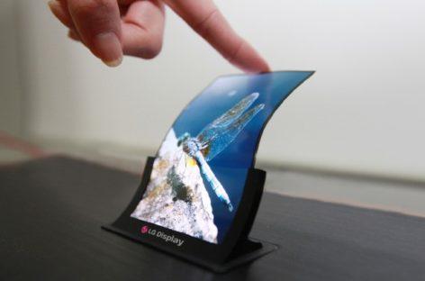 LG bendable displays for smarphones coming soon