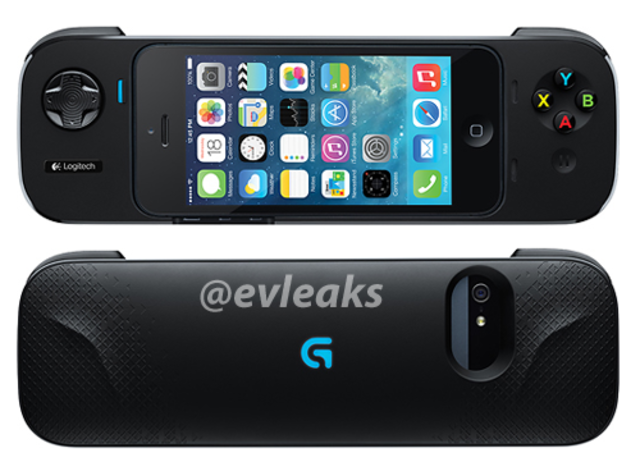Logitech gamepad for iPhone