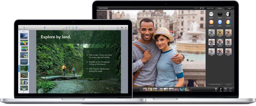 New MacBook Pro with Retina display