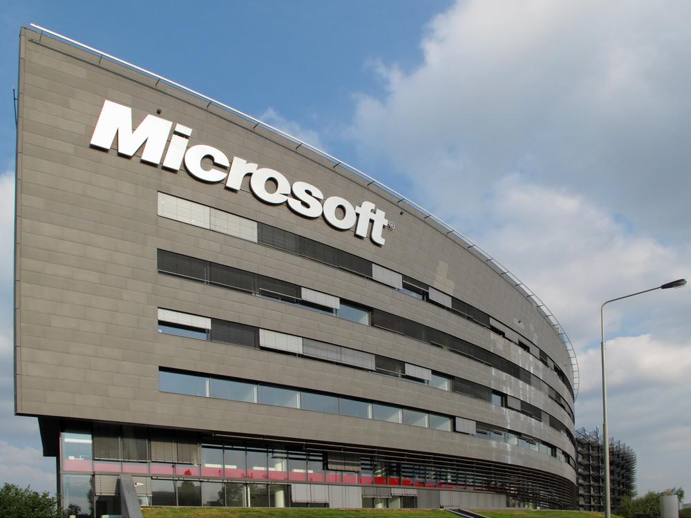 Microsoft profits up by 17%