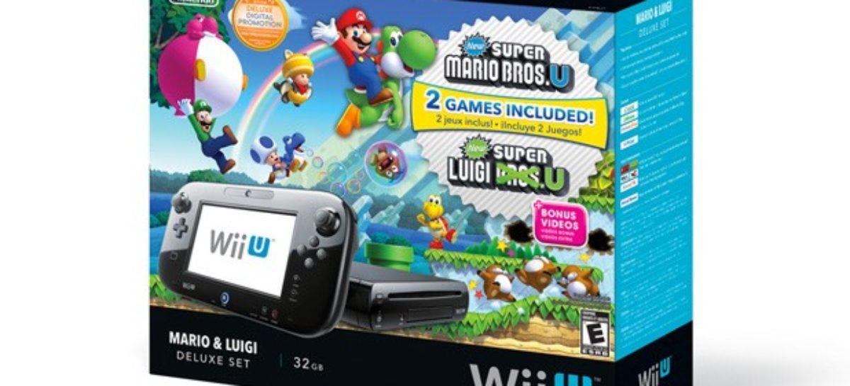 New Nintendo Wii U Deluxe bundle announced