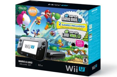 New Nintendo Wii U Deluxe bundle announced
