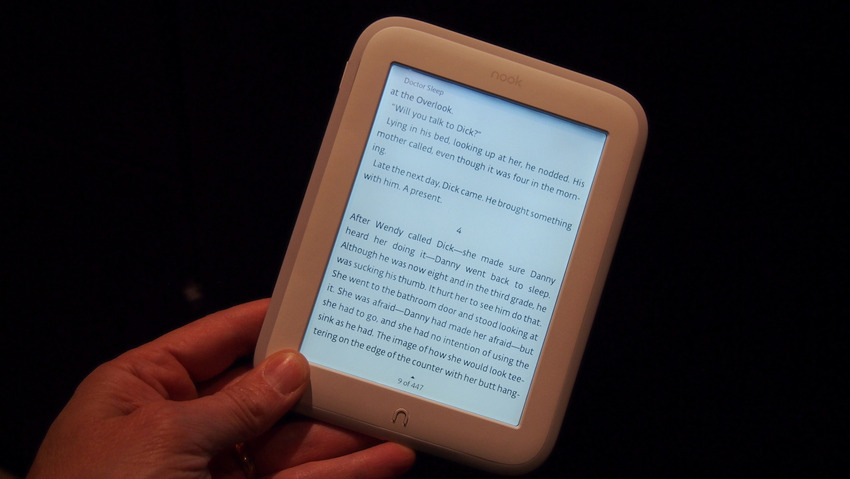 Barnes & Noble Nook Glowlight e-reader
