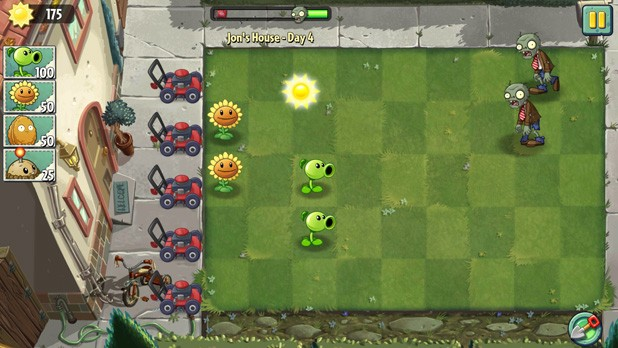 Plants vs. Zombies 2 Android version
