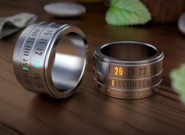 Ring Clock: A watch on your finger