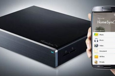 Samsung HomeSync: Like Apple TV, but with storage