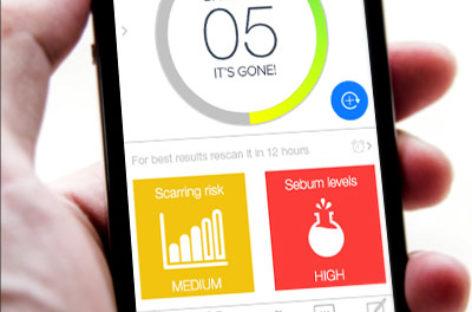 ScanZ: Skin analyzer and app in one