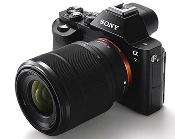 Sony A7 full-frame mirrorless camera