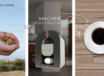 Bonaverde Coffee Changers roast-grind-brew machine