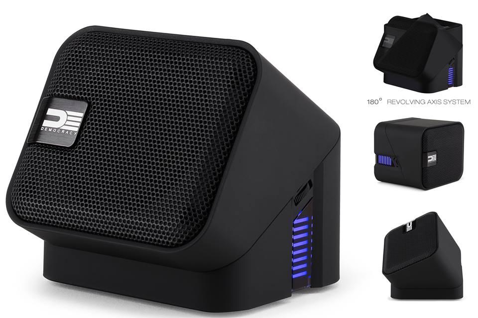 DEMOCRACY Bluetooth speaker
